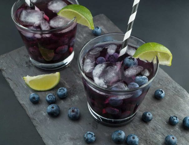 delicious blueberry drinks