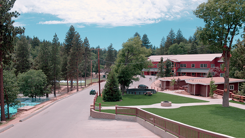 A landscape of Pali Retreat